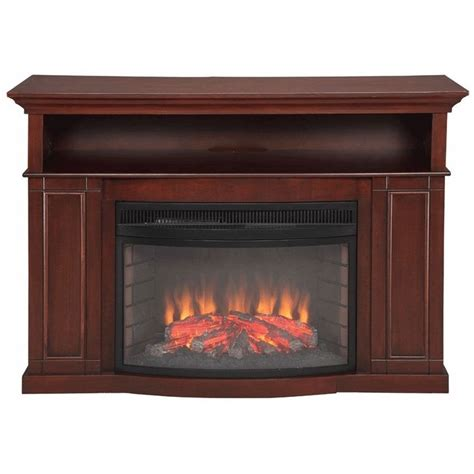 tv stand with electric fireplace inch flat screen tv