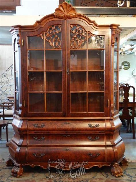 aparador cristalero ingles chippendale muebles