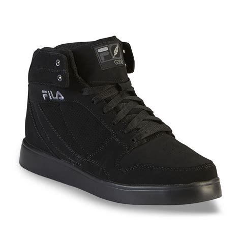 fila high top sneakers fila s g300 figueroa black high top shoe clothing