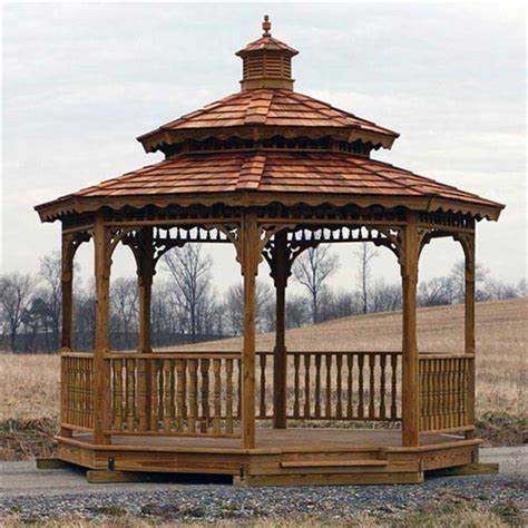 8x8 gazebo 8x8 wood gazebo kit diy gazebo kits at alan s factory outlet