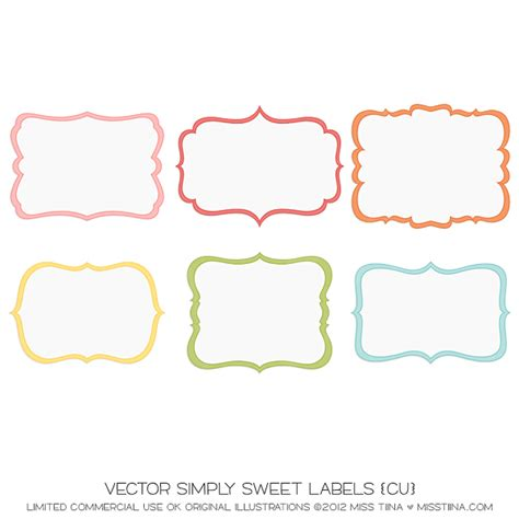 label template 10 best images of label templates printable