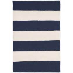 Navy Stripe Outdoor Rug Falls Stripe Navy Indoor Outdoor Rug Dash Albert