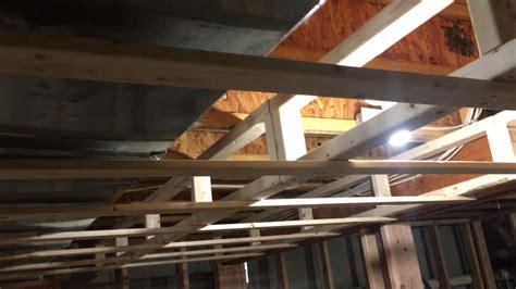 soundproof furnace closet finishing my basement soffit framing around duct work