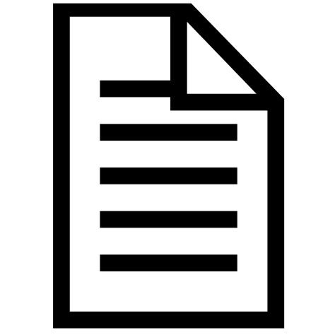 best document document icons clipart best