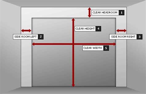 Garage Door Opening Size by Cheap Garage Doors