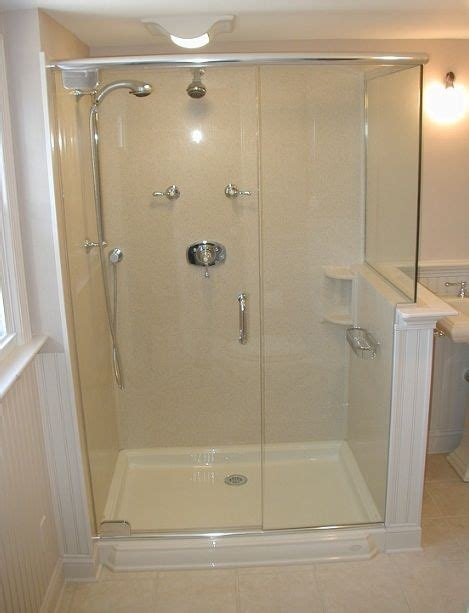 Various Bathroom Shower Stall Ideas You Can Get Home Bathroom Shower Unit
