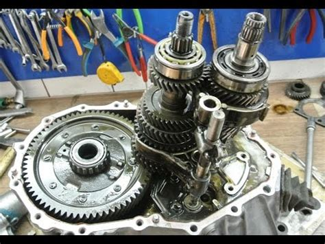 service manual transmission repair how to disassemble on a 1948 citroen 2cv 1946 1947 1948 how to disassemble a manual transmission youtube
