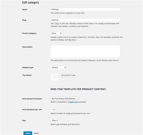woocommerce category page template woocommerce product category page grid builder add ons
