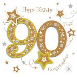 happy 90th birthday greeting card by talking pictures cards kates