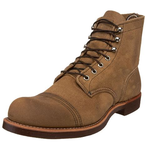 wing boot wing mens 6 iron ranger boot in brown for