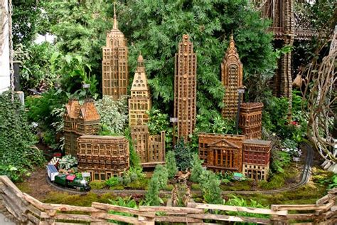 New York Botanical Garden Train Show Dust And Rust Botanical Garden Show
