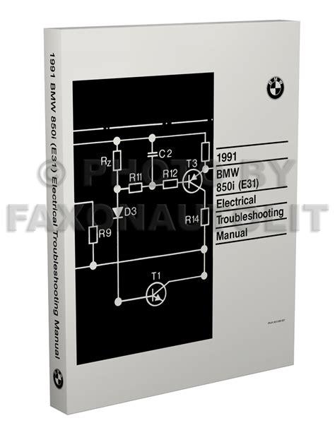 1992 bmw 850 i owners electrical service manual e31 parts 1991 8 series e 31 ebay 1991 1992 bmw 850i repair shop manual original