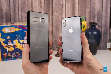 x samsung note apple iphone x vs samsung galaxy note 8