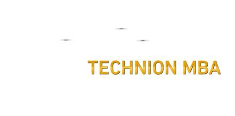 Technion Mba by תואר שני במנהל עסקים הטכניון