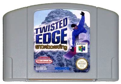 Twisted With An Edge buy twisted edge snowboarding n64 australia