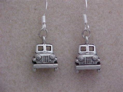 Jeep Jewelry Jeep Pewter Earrings Sold Ewillys
