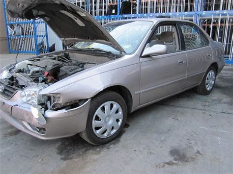 2001 Toyota Corolla Aftermarket Parts Parting Out A 2001 Toyota Corolla Stock 100573 Tom