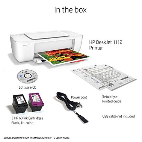 Printer Hp Deskjet 1112 hp deskjet 1112 compact printer f5s23a import it all