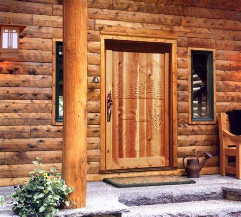 cabin doors solid wood doors exterior doors