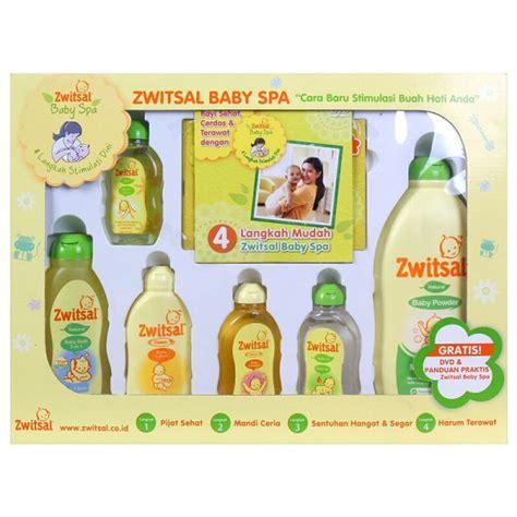 Pelembab Bayi jual zwitsal baby spa gift box jd id