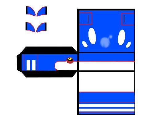 Kyogre Papercraft - mangapapercraft kiogre
