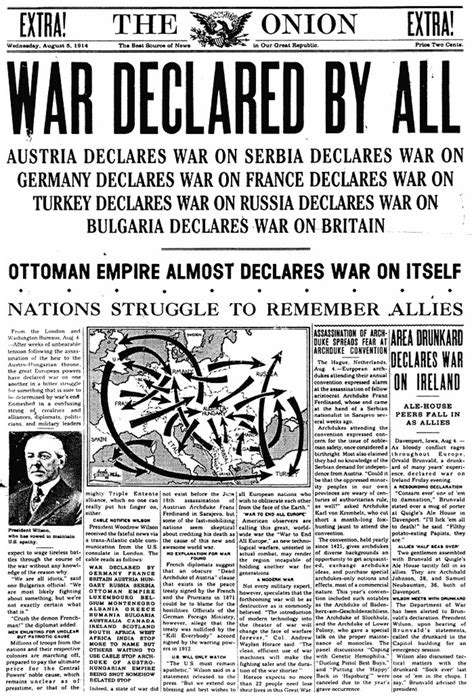 why did the ottoman empire entered ww1 august 5 1914 the onion america s finest news source