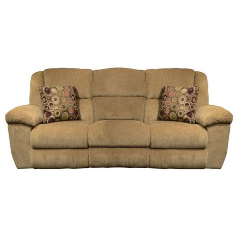 beige reclining sofa catnapper transformer ultimate reclining sofa in beige and