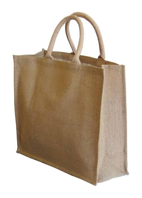 carry bag jute uk carry bag stiffened luxury jutebags