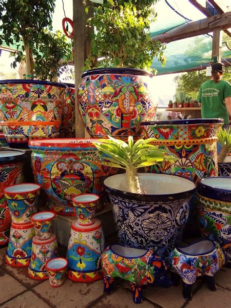 mexican pottery planters 17 best ideas about talavera pottery on mexican style mexican style decor and