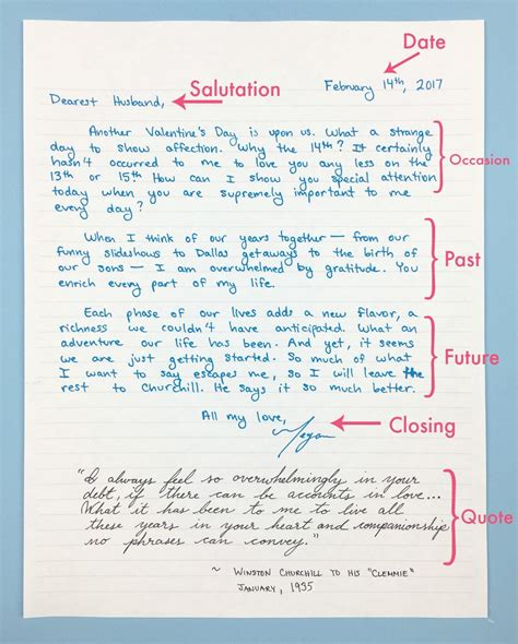 why you need to write love letters how to write one
