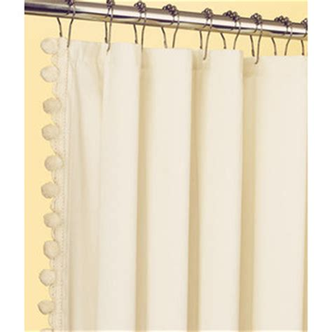 ball fringe curtains country curtains classic ball fringe perma press shower