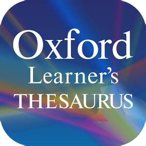 rugged thesaurus l inglese diventa facile con oxford learner s thesaurus tutto android