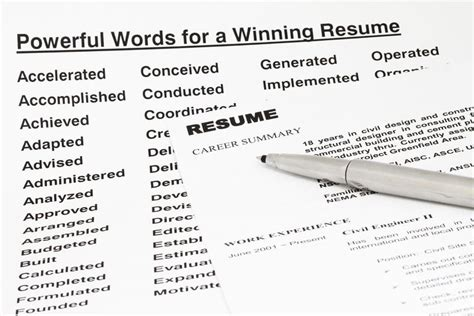 Using I In A Resume by Resume Keywords And Tips For Using Them