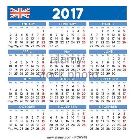 year calendar 2017 uk 2017 calendar stock photos 2017 calendar stock images