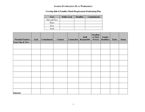 11 Best Images Of A Balanced Meal Plan Worksheet Diet Meal Planning Worksheet Blank Choose Fundraising Plan Template
