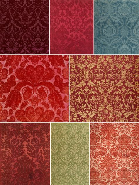 Damask Pattern History | history of surface design damask pattern observer