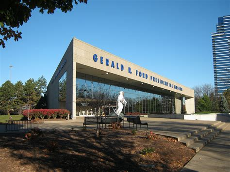 Gerald R Ford Presidential Library Museum by Biography Explores Gerald Ford S Early Years Wkar