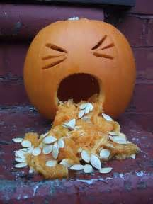 pumpkin sick best 25 puking pumpkin ideas on spooky food