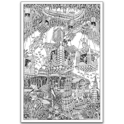 Wildergorn Giant Coloring Posters Absolutely Fantastic Coloring Posters