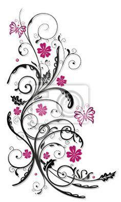 Fingernägel Design Vorlagen Pink Rosenranke Vorlagen Lilz Eu De Coloring Flowers