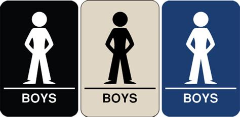 boy bathroom sign need a braille ada signs we have quot boy s restroom quot signs