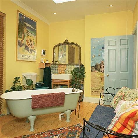 37 Sunny Yellow Bathroom Design Ideas   DigsDigs