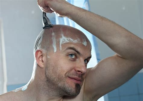 men who shave the power cut men with shaved heads look more dominant