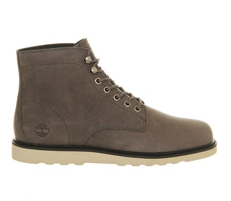 gray timberland boots mens timberland ek newmarket wedge boots in gray for grey