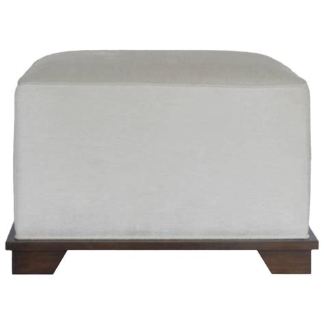 custom upholstered ottoman nbs custom upholstered ottoman for sale at 1stdibs