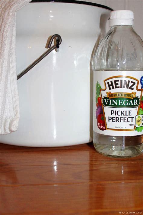 3 Ways to Clean Hardwood Floors with Vinegar   Clean Mama