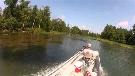 free boats in arkansas supreme boat on eleven point river in ar youtube