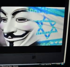 anonymous launches cyber attack against jihadist website in first hacking group anonymous launches attack on israeli