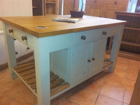 free standing kitchen island units kitchen island unit free standing solid pine with 5ft oak top extension home