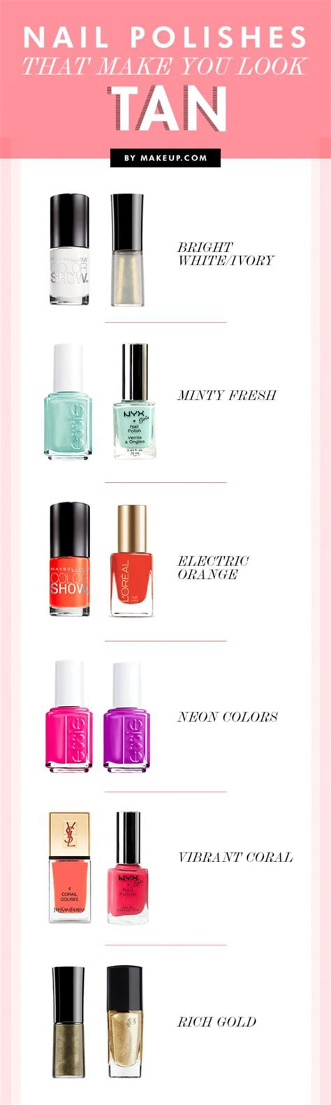 what colors make you look nail polishes that make you look weddbook